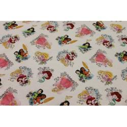 Coton Imprimé Princesses