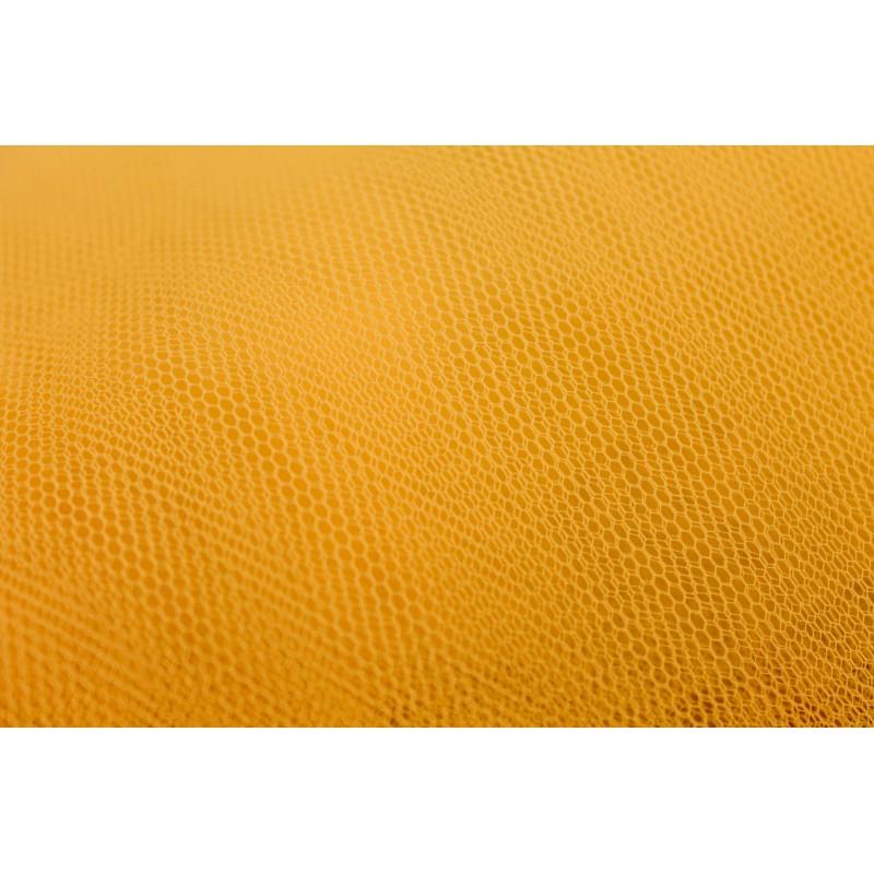 Tissu tulle jaune
