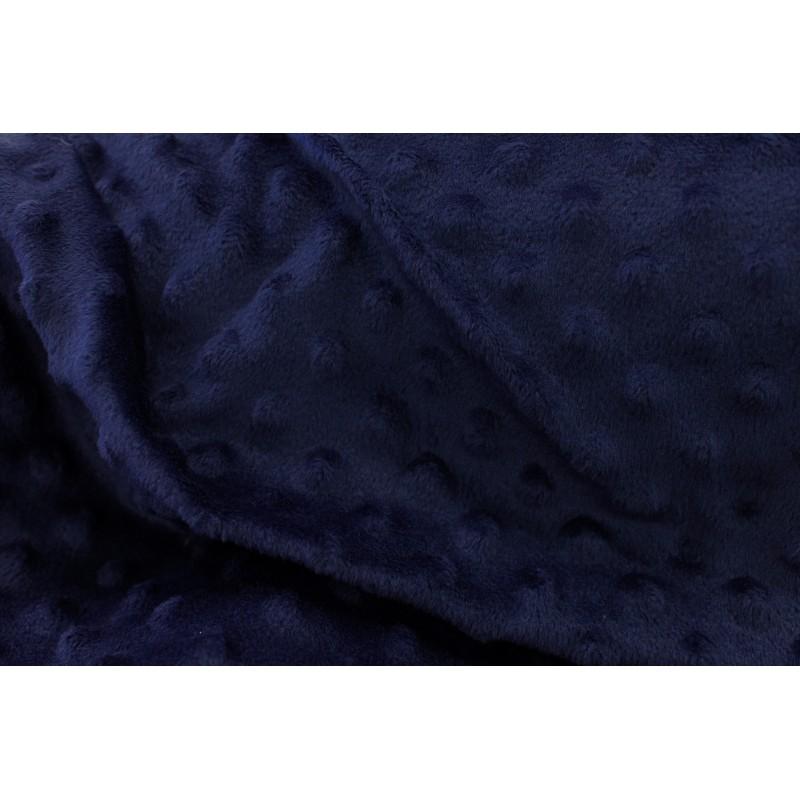 Minky Bleu Nuit