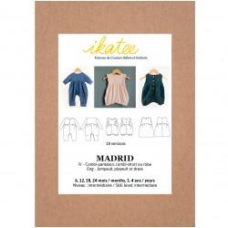 Pochette patron de couture MADRID 6M-4ans