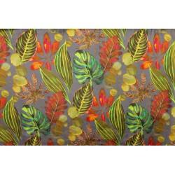 Tissu velours Bahamas Dusk