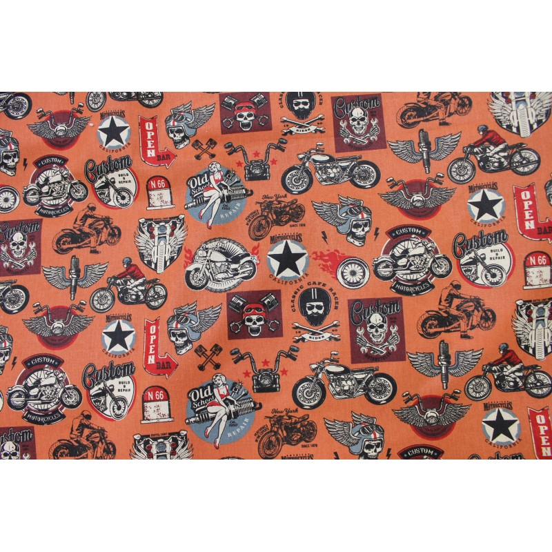 Coton Bikers Orange