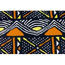 Wax Géométrique Noir