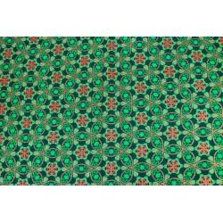 Wax Brillant Mandala Vert