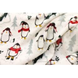 Doudou Imprimé Pingouin