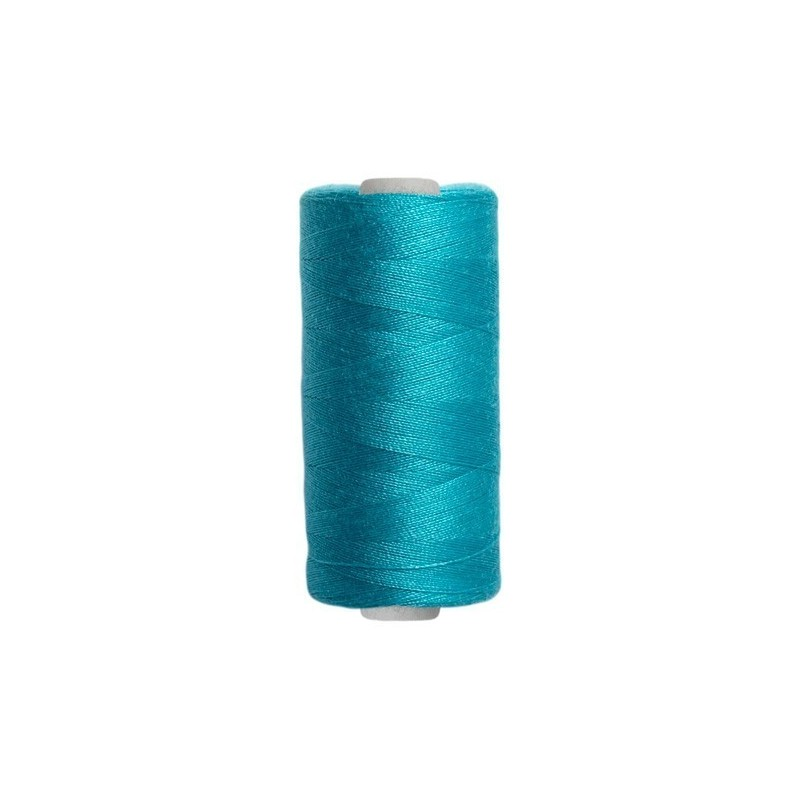 Fil à coudre tous tissus - Bleu Turquoise