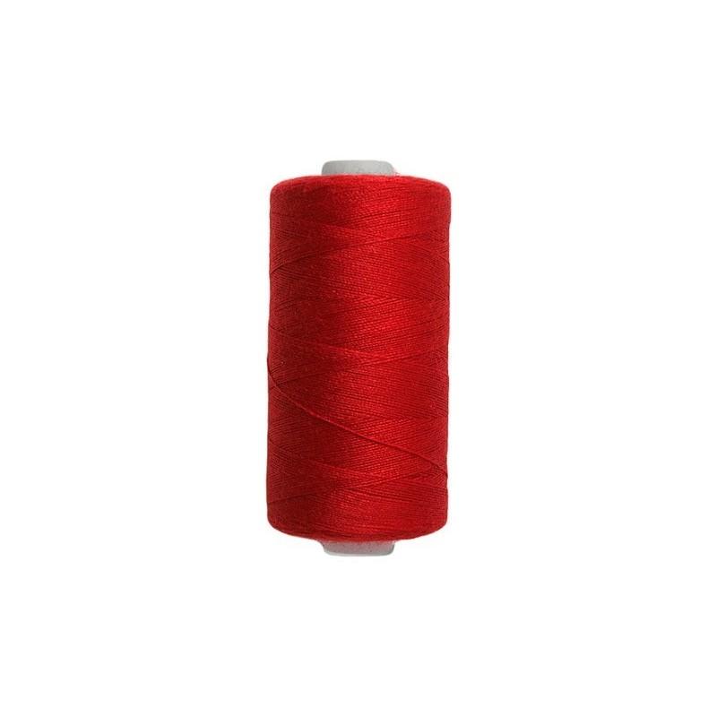Fil à coudre tous tissus - Rouge Carmin