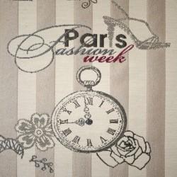 Tissu Jacquard Paris Fashion Week