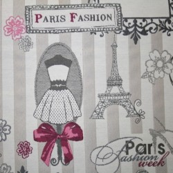 Tissu Jacquard Paris Fashion Week