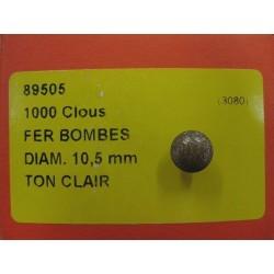 Clous Tapissiers Dorés - Boite de 1000