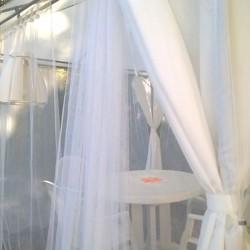 Voile moustiquaire 3mt Lg - blanche