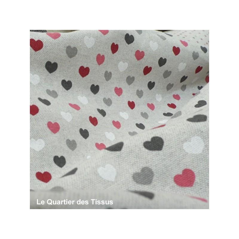 Tissu imprimé Valentine