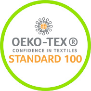 Label STANDARD 100 by OEKO-TEX®
