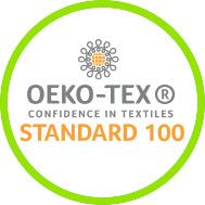 Label STANDARD 100 by OEKO-TEX®