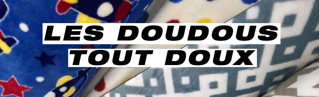 Les Doudous sont arrivés Confectionnez des vêtements d'intérieur agréables et confortables pour tous les petits.